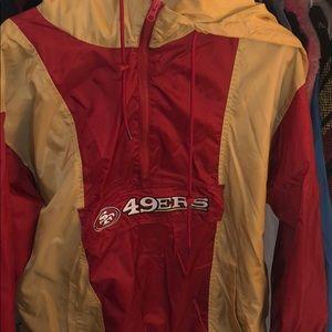 49ers Vintage windbreaker